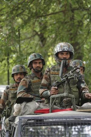 28000 soldier deployed in kashmir