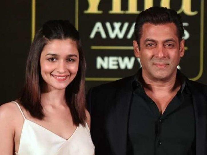 Alia Bhatt and Salman Khan