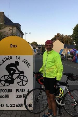 army man cycling record