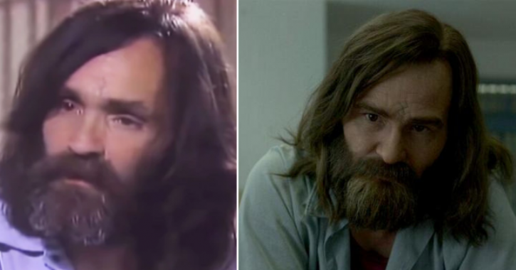 Charles Manson real life interview: side by side Mindhunter VS real life comparison