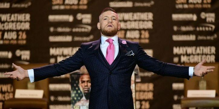 Conor McGregor punches man over whiskey