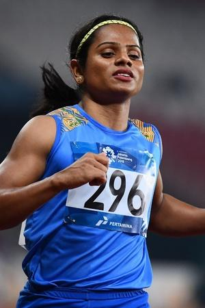 Dutee Chand clocked 1142 seconds