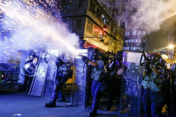Hong Kong Where Millions Of People Protesting