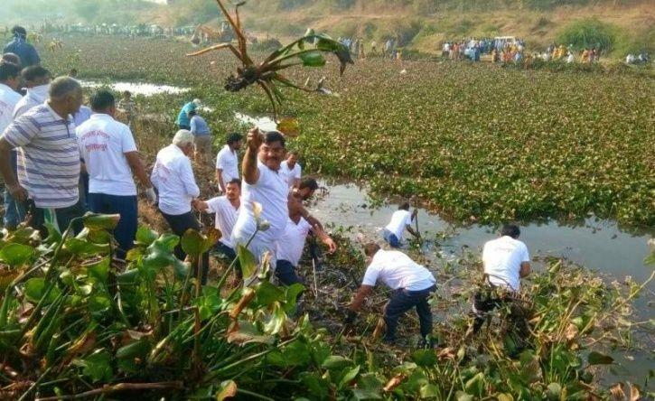 How A 40,000-Strong Community Of Locals Brought Back A Dead River To Life In Maharashtra