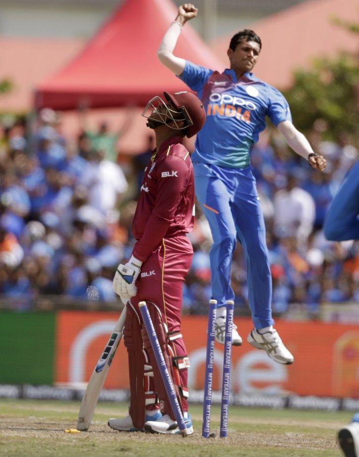 India vs West Indies:Virat Kohli's Men In Blue Fight It Out