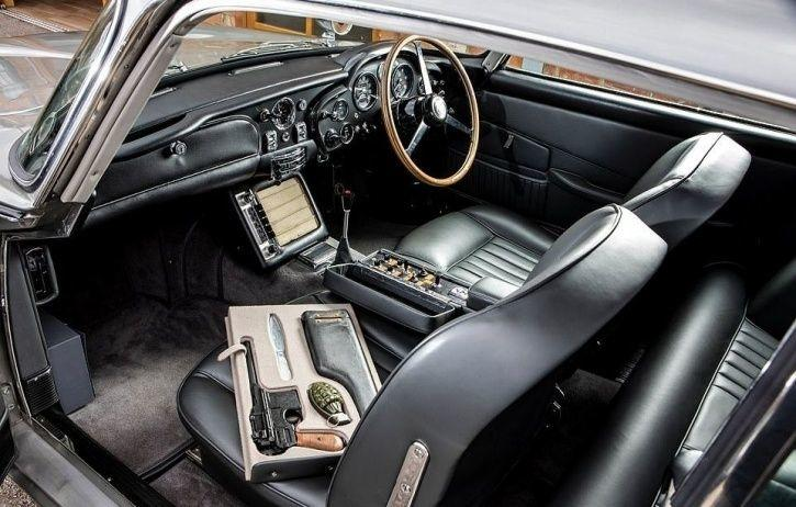 James Bond's Iconic Aston Martin DB5 Sold Has Been Auctioned For Record- Breaking Rs 45 Crores