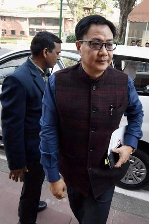 Kiren Rijiju is clearly impressed