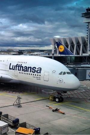 Lufthansa air pollution