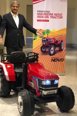 Mahindra Toy Tractor Mahindra Ride On Tractor Mahindra Tractor For Kids Anand Mahindra Tweet Mah
