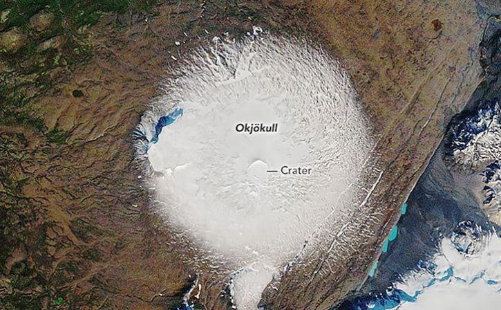 Memory Of Glacier Lost To Climate Change