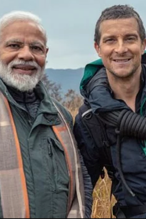 modi on man vs wild