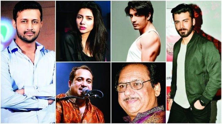 Pakistani artistes who are banned from working in India.