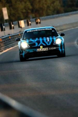 Porsche Taycan Endurance Test Porsche First Electric Car Porsche All Electric Sports Car Taycan E
