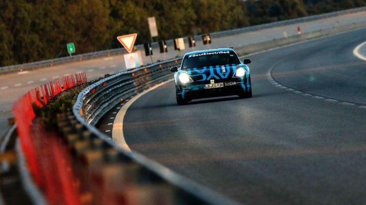 Porsche Taycan Endurance Test, Porsche First Electric Car, Porsche All Electric Sports Car, Taycan E