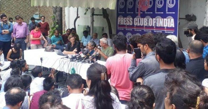 Press Club Of India Bars Activists From Releasing Video Footage & Photographs From Kashmir