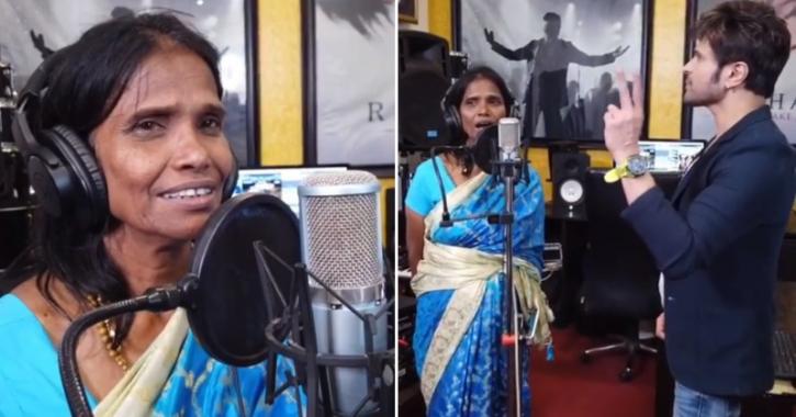 Ranu Mondal second song with Himesh Reshammiya is titled Aahat.