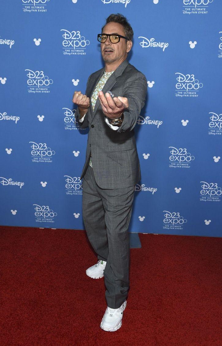 Robert Downey Jr arrested in Disneyland