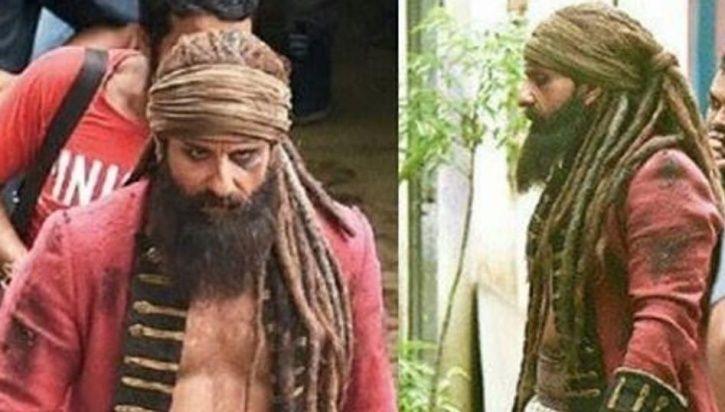 Saif Ali Khan Laal Kaptaan look.