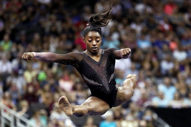 Simone Biles American Gymnast Becomes First Woman Athlete Pull Off Triple