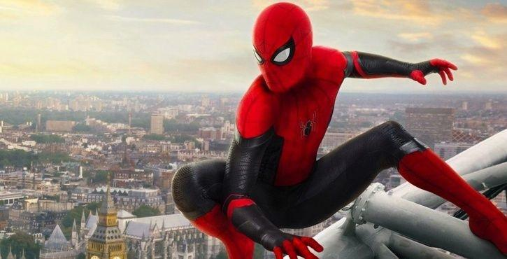 Spider man new films with Tom Holland in Marvel Cinematic Universe.