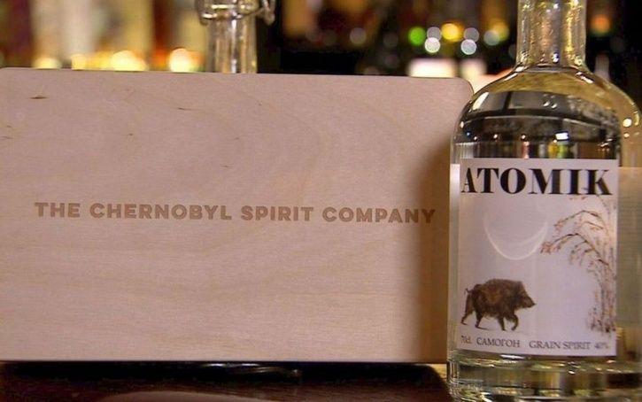 The Chernobyl Spirit Company: Chernobyl vodka is called ATOMIK.