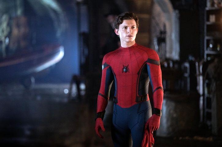 Tom Holland Spider man.