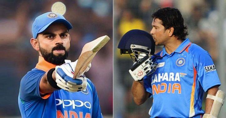 Virat Kohli and Sachin