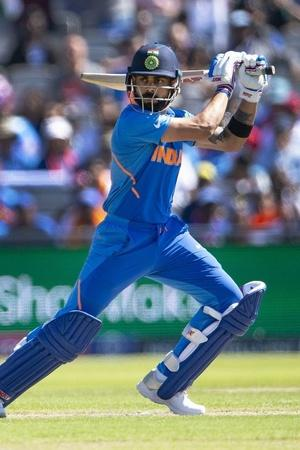 Virat Kohli averages over 60 in ODIs