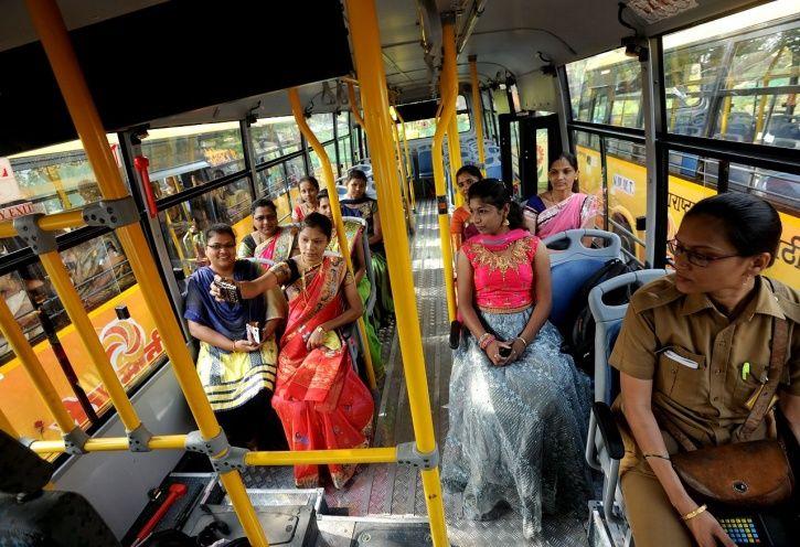 women bus driver