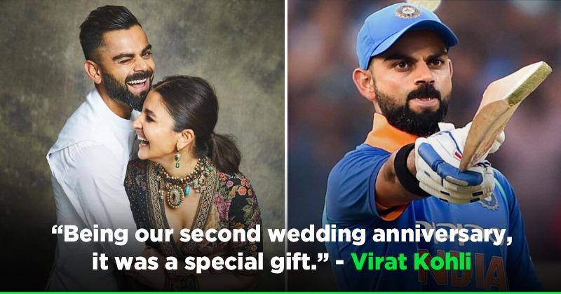 Virat Kohli Gave The Most Special Anniversary Gift To Anushka Sharma, Dedicated India