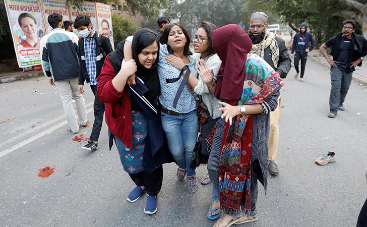 Protest In Delhi