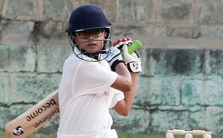 Rahul Dravid Son Samit Just Scored A Double Century