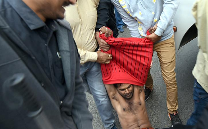 UP Police Of Assaulting Muslims During CAA Stir