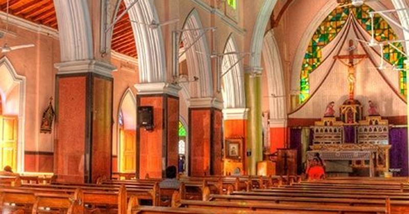 St Mary's Basilica at Sarojini Devi road
