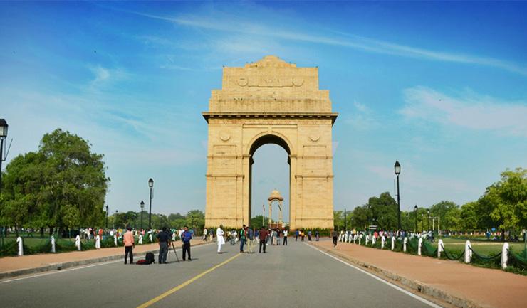 clean india gate