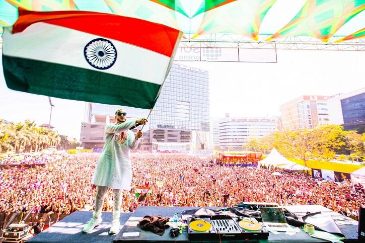 DJ Snake Indian flag