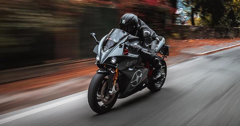 Energica Ego+ electric superbike