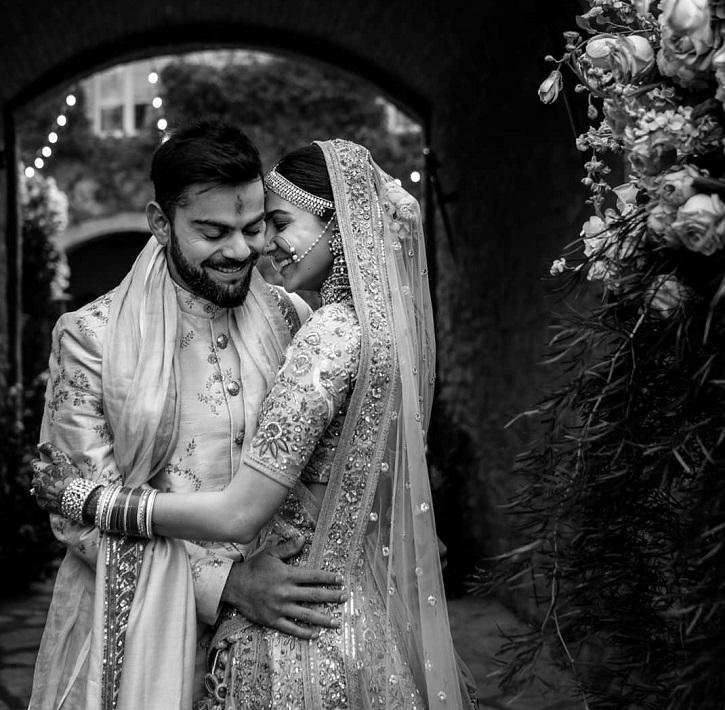 Virat Kohli and Anushka Sharma love story on their anniversary.