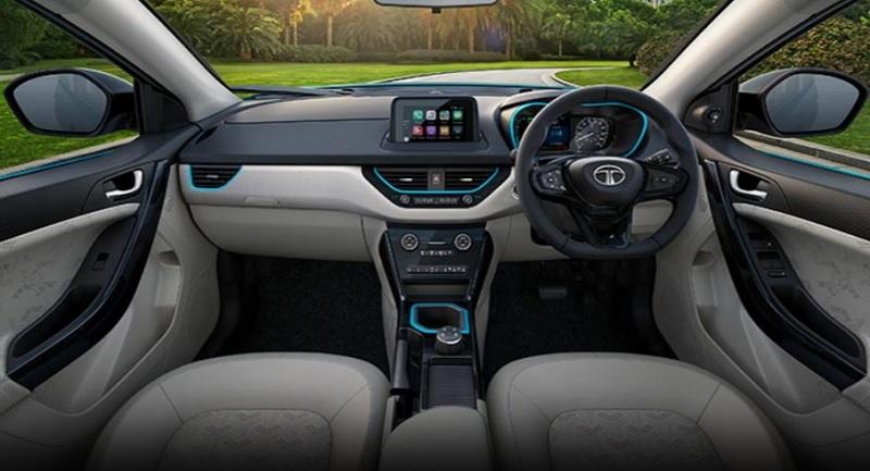 Tata Nexon EV Interiors