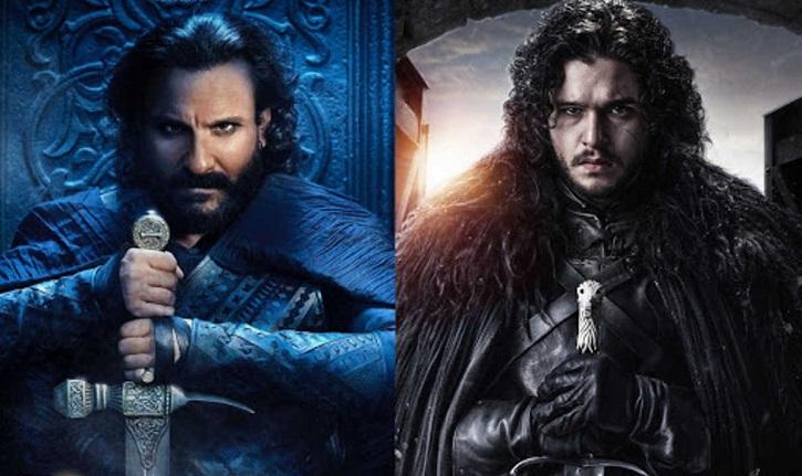 Saif Ali Khan Jon Snow