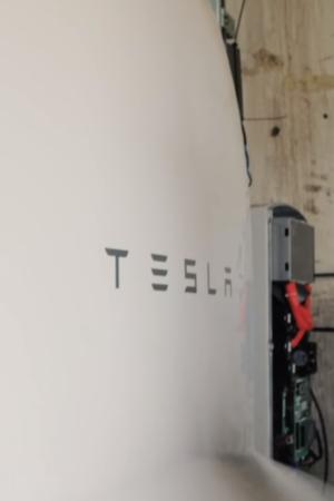 GivePower, desalination plant, Tesla energy storage