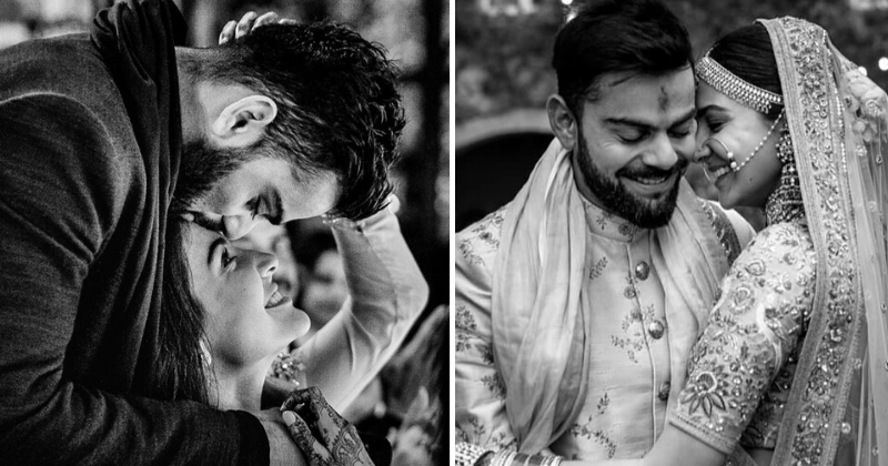Virat Kohli and Anushka Sharma love story on their anniversary.