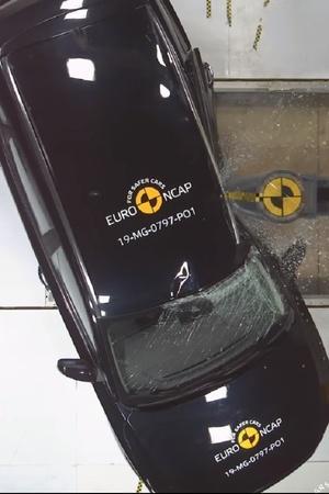 ZS Crash Test Result