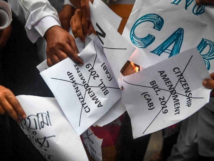 Student Protests Against India