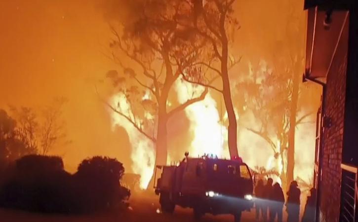 Australia Blazes