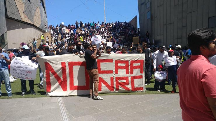 Melbourne Australia CAA Protest