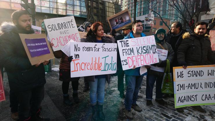 Canada CAA Protest