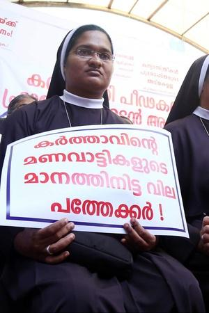 Kerala rape protest
