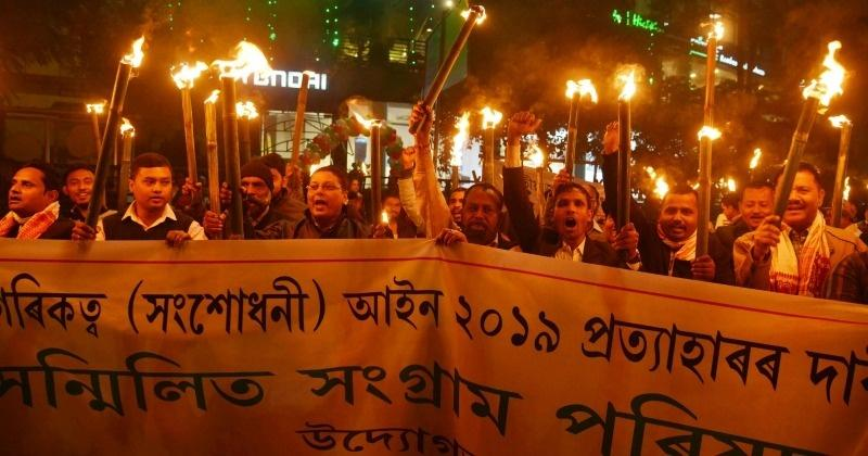 In Assam, Close To One Lakh Gather In Biggest Agitation Against Citizenship Law