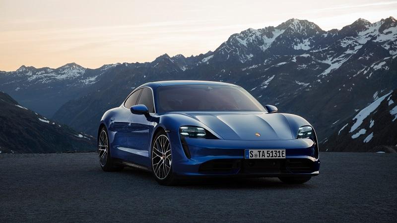 Porsche Taycan Turbo S, Porsche Taycan in India, India EV News, India Electric Cars